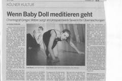 Kölnische Rundschau 04. Mai 2004