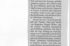 Kölner Stadt-Anzeiger 19. April 2005