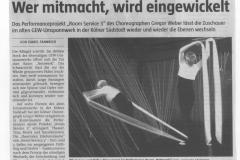 TAZ NRW Köln 23./24. April 2005