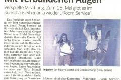 Kölnische Rundschau 15. November 2014